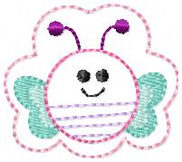 Bubba Butterfly Embroidery File