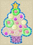 Bubble Tree Embroidery File