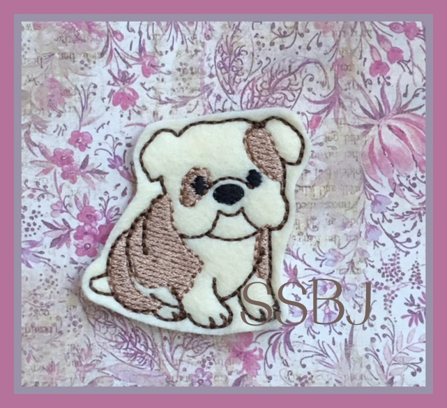 SSBJ BullDog Embroidery File