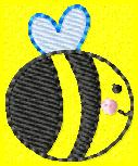 SSBJ BumbleB Embroidery File