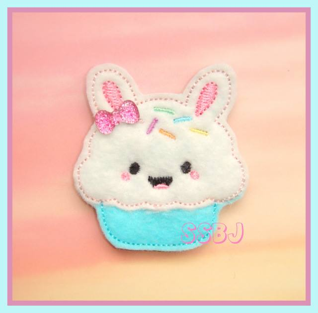 Bunny Cake Embroidery File