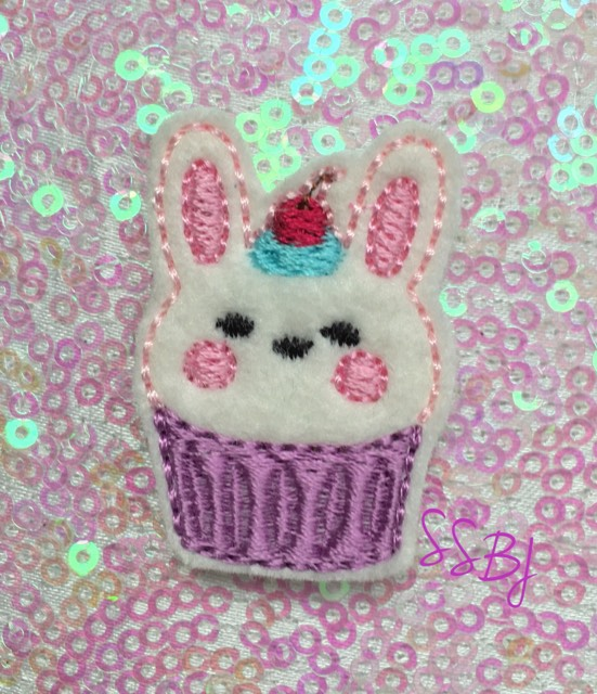 SSBJ Animal Cake Bunny Embroidery File