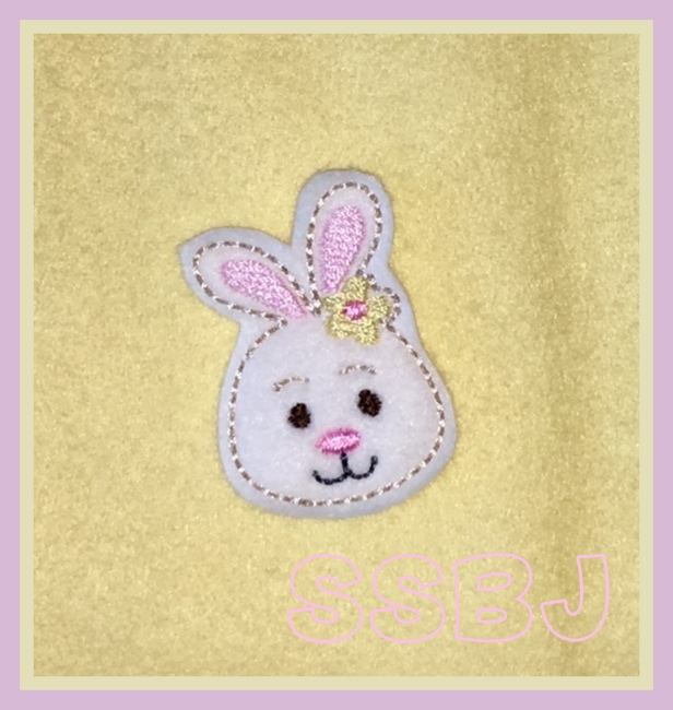 SSBJ Bunny Girl Face Embroidery File
