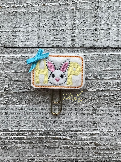 SSBJ Bunny HOP Embroidery File