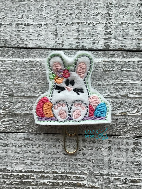 SSBJ Resting Bunny Embroidery File