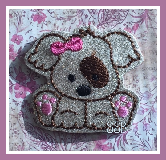 SSBJ Buster Bow Embroidery File