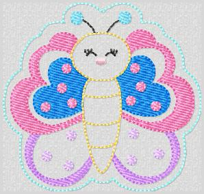 Butterfly Beauty Embroidery File