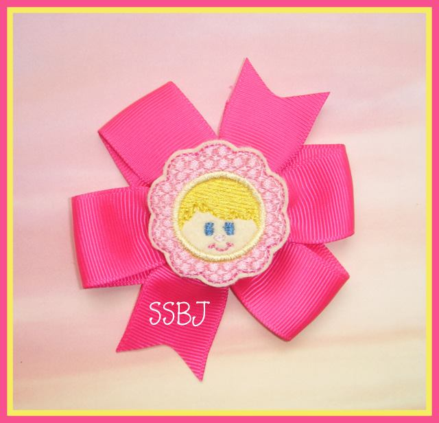Costume Kids Flower Embroidery File
