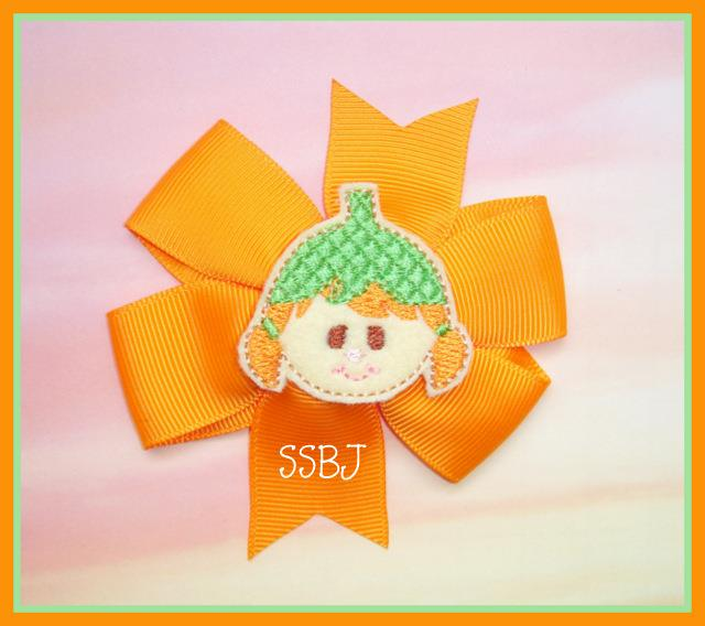 Costume Kids Pumpkin Embroidery File