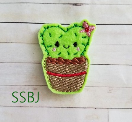 SSBJ Cactus Love Embroidery File