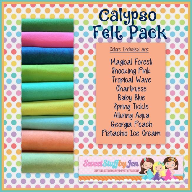 Calypso Wool Felt Pack