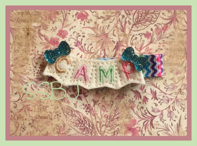 SSBJ Camp Banner Embroidery File