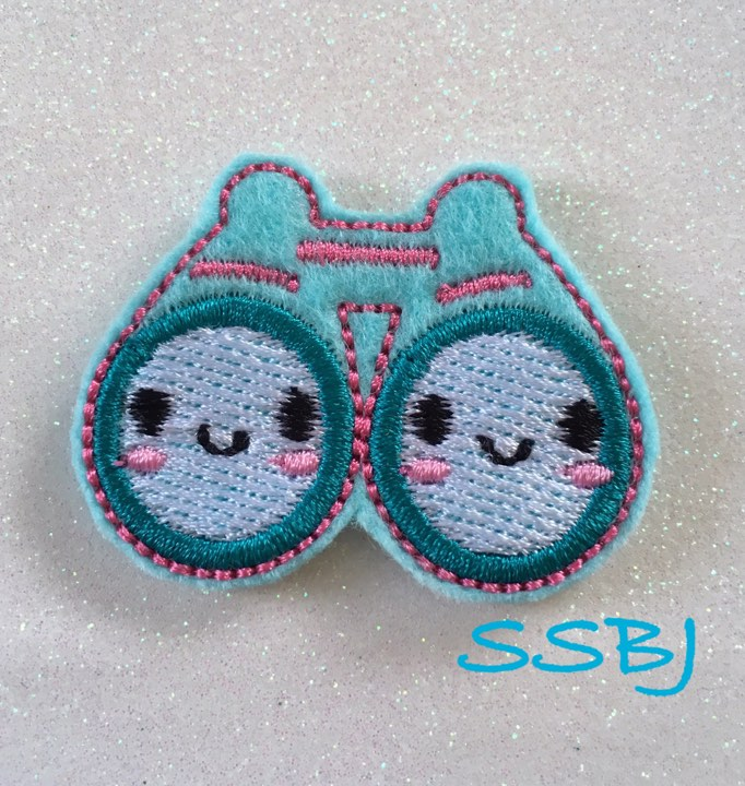 SSBJ Binoculars Embroidery File