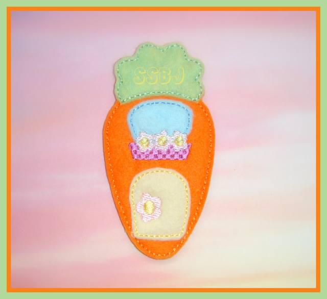 Carrot Lodge Embroidery File