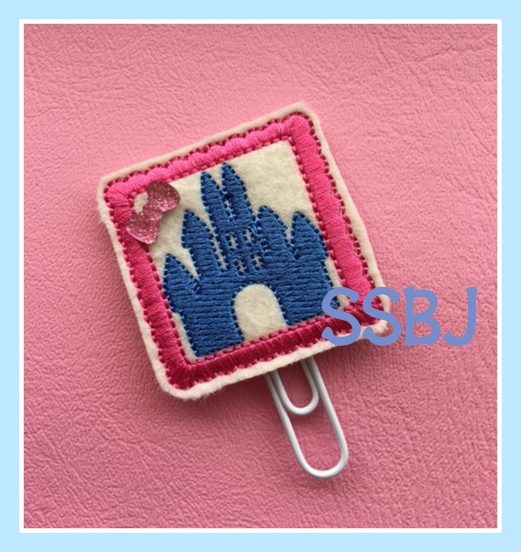 SSBJ Magical Planner Castle Embroidery File