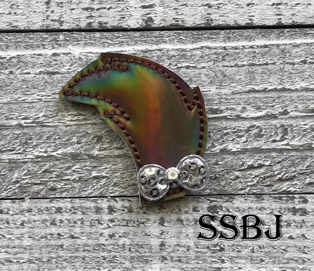 SSBJ Planner Peeker Cat Tail Embroidery File