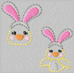 Charlie Chick Embroider File