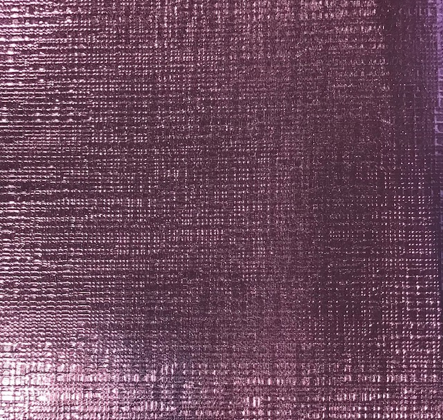 Checkered Metallic Light Pink Embroidery Vinyl