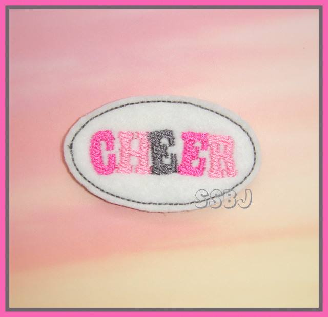 LBS Cheer Embroidery File