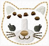 Cheetah Embroidery File SET