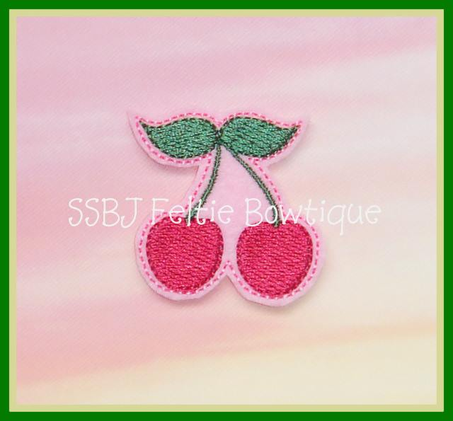 Cherries Embroidery File