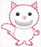 Chesh the Cat Embroidery File