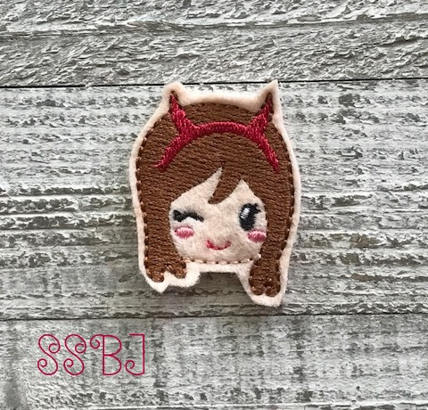 SSBJ Chi Girl Devil Embroidery File