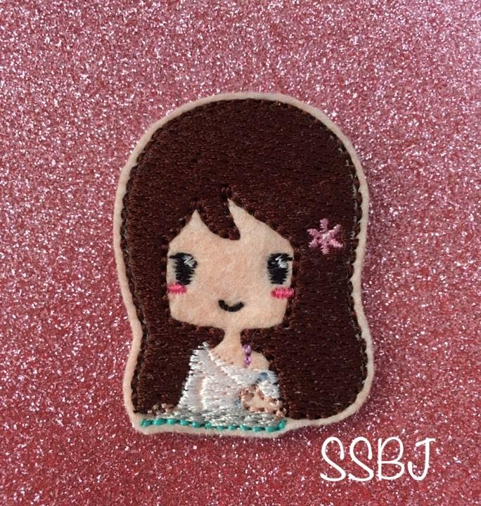 SSBJ Chi Girl Study Embroidery File