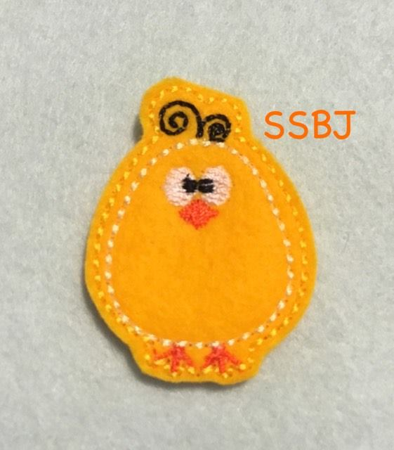 SSBJ Little Chickie Embroidery File