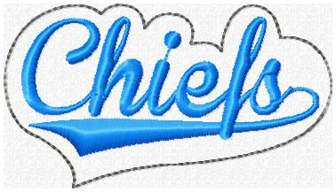 Chiefs Glam Band Embroidery File