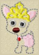 Chihuahua Embroidery File