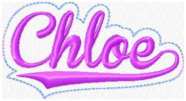 Chloe Glam Band Slider Embroidery File