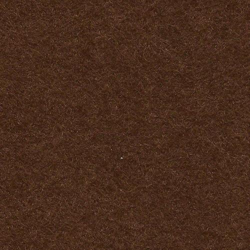 *Chocolate Wool Blend Felt