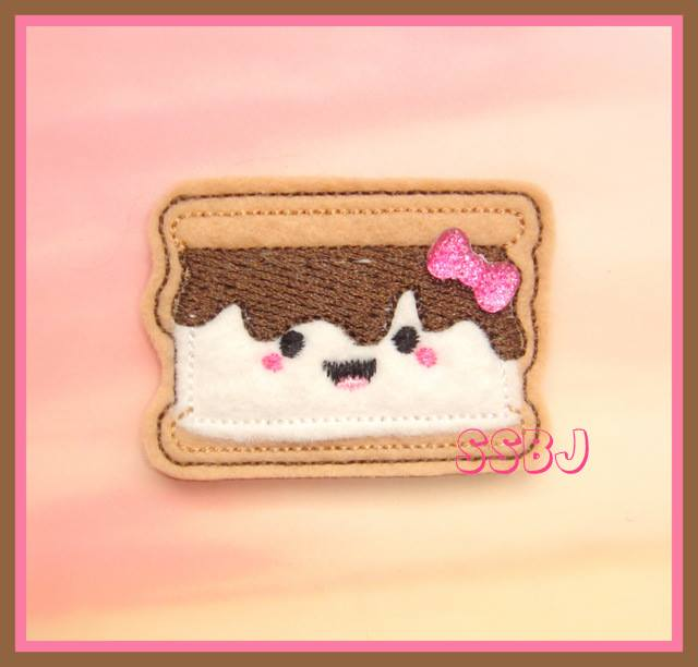 Chocolaty Smores Embroidery File