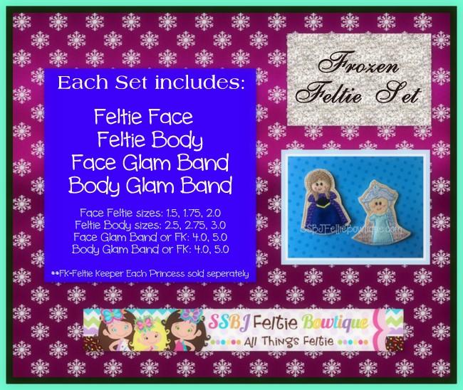 SSBJ Princess ANNA Set Embroidery Files