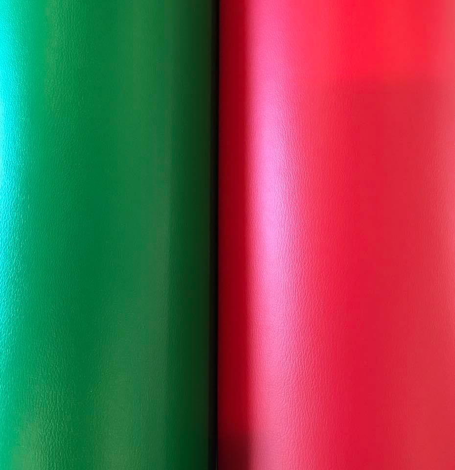 Christmas Green & Christmas Red MarineVinyl