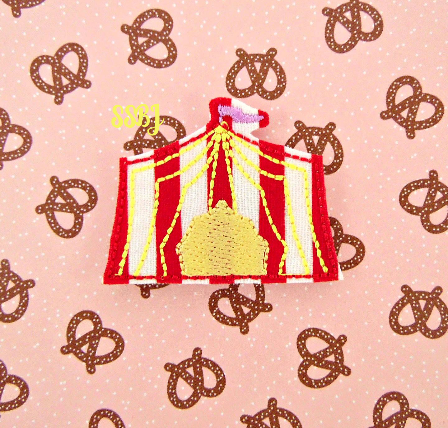SSBJ Circus Tent Embroidery File