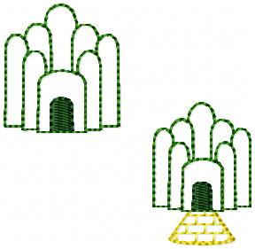 Emerald City Embroidery File