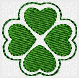 Clover Love Embroidery File