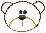 Coco the Bear Embroidery File