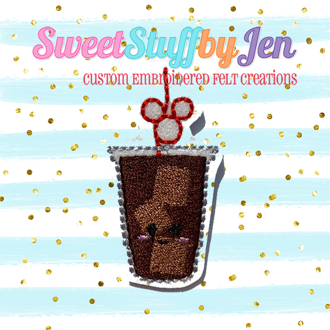 SSBJ Ice Coffee Brew Embroidery File