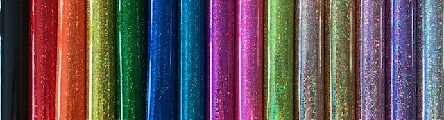 Confetti Glitter Embroidery Vinyl