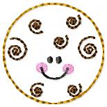 Swirl Cookie Embroidery File
