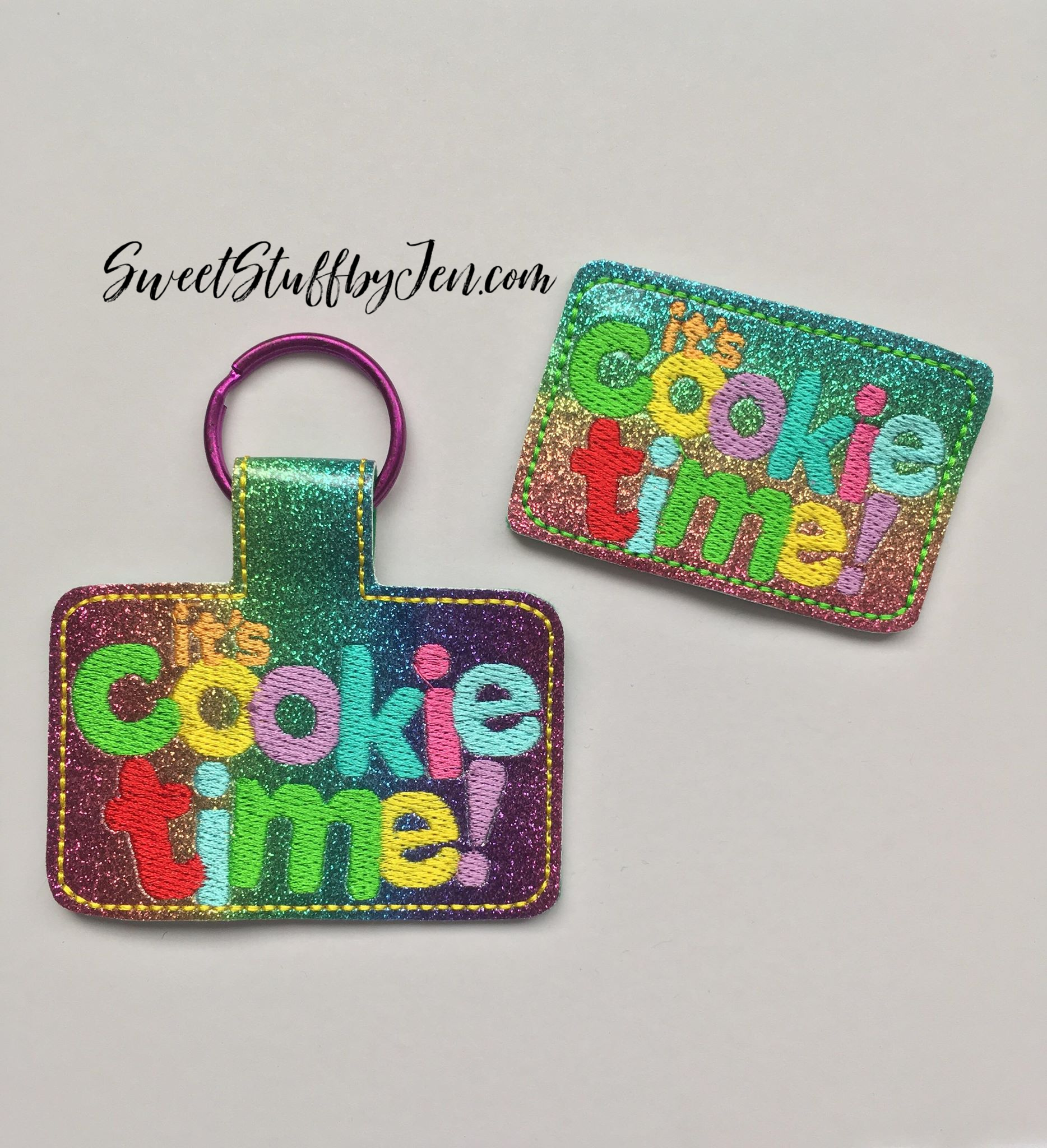 SSBJ GS Cookie Time Embroidery File
