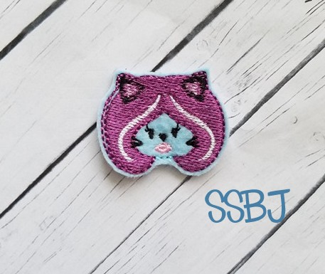 SSBJ Costume Party Cat Embroidery File