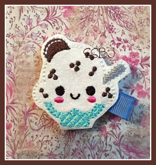 SSBJ Creamy Cookie Sundae Embroidery File