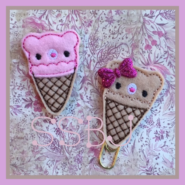 SSBJ Cuddly Bear Cone Embroidery File