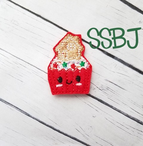 SSBJ Gingerbread House Cupcake Embroidery File