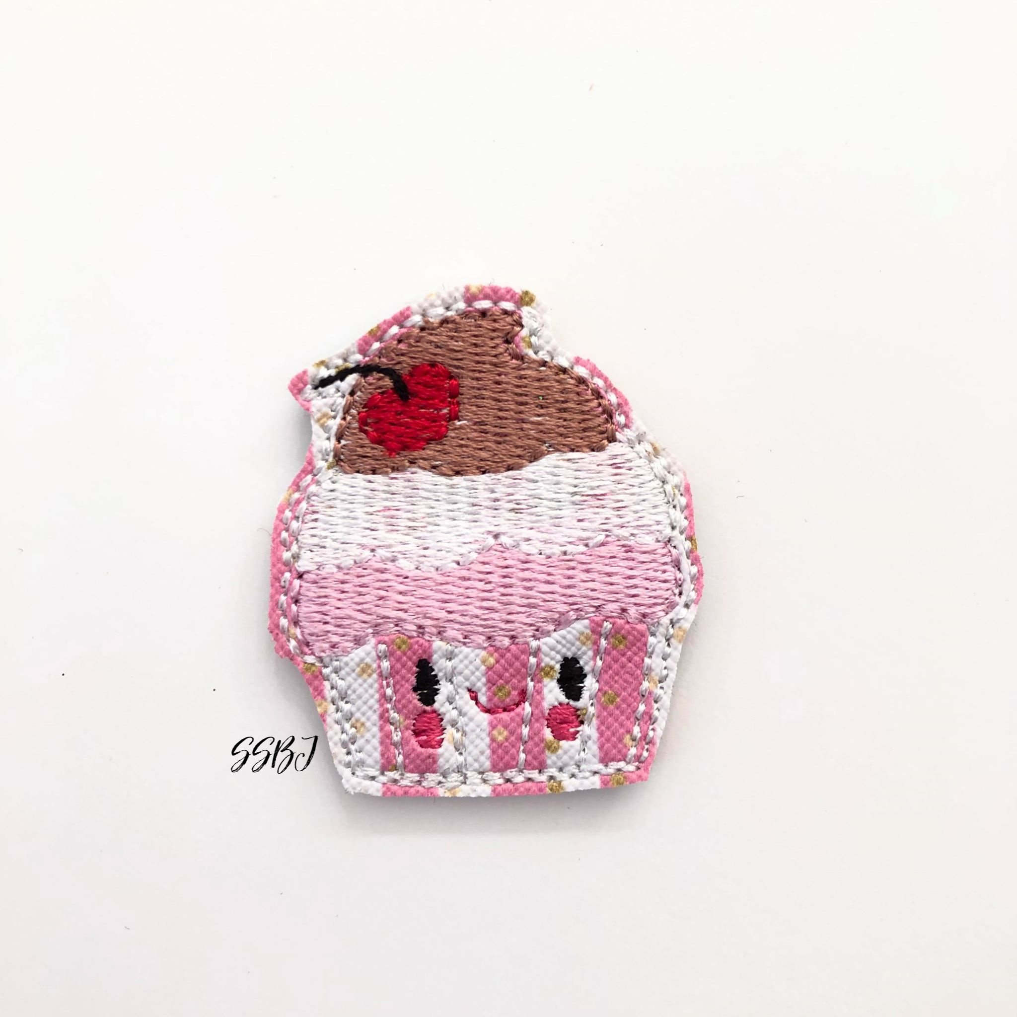 SSBJ Cupcake Trio Embroidery File