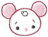 Cute Mouse Embroidery File